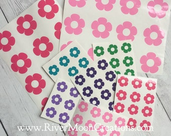 Bike decals stickers Flower Bike Decals Decorate bicycle tricycle floral flowers makeover