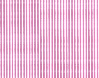 Sweetie Loralie Lazy Pink Stripe from Quilting Treasures By the yard