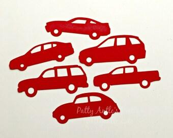 Car Die Cuts, Car Confetti, 30 Ct.