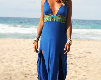 MoonchildDress TRIBAL BLUE
