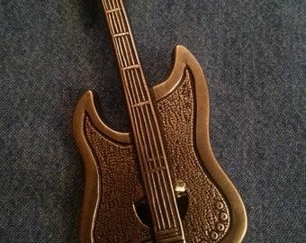 Vintage Guitar Buckle