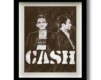 Johnny Cash El Paso Mug Shot print - multiple sizes