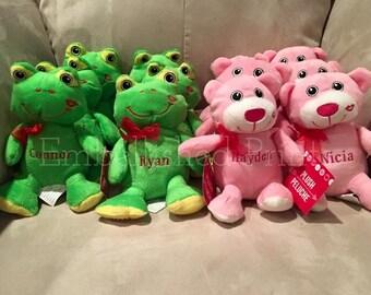 Personalized Valentine's Day Plush Stuffed Animal