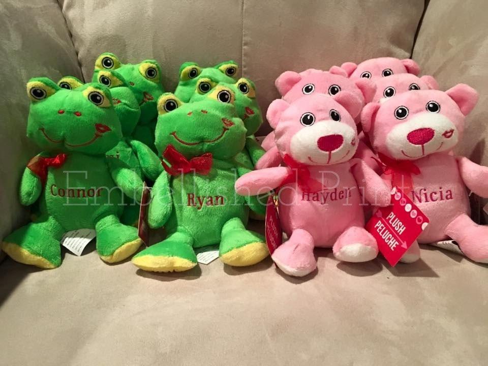 personalized valentine's day plush stuffed animal, Ideas