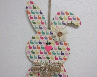 Easter Decor-Easter Bunny Wall Decor