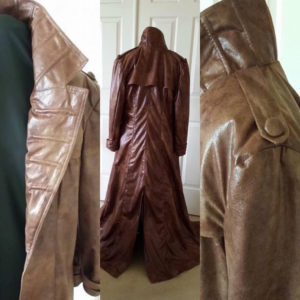 Leather jacket repair toronto - 90 S X Men Gambit Jacket Brown Faux Leather