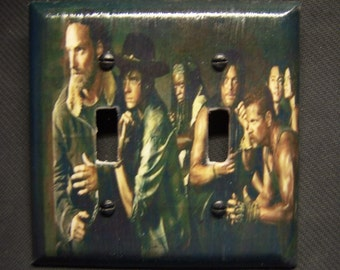 Light Switch Cover The Walking Dead Season 5 Cast Print