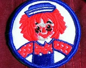 "Vintage 1960's ''Raggedy Andy"" Embroidered Sew -On Patch Very Nice Qualiy!"