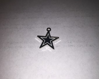 Dallas Cowboys football charm #3