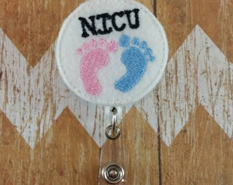 NICU badge reel, nurses badge reel, baby nurse badge reel, NICU nurse badge reel, labor and delivery badge reel, badge reel