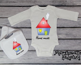 Homemade Bodysuit; New Baby Bodysuit; Homemade Toddler Tee; Homemade Youth T-Shirt; Homemade T-Shirt; *MS1619