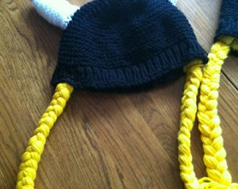Women's viking hat