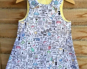 Science Pinafore Dress