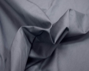 """Steel Blue Cal Pacific 100% Cotton Pinpoint Shirting Fabric 58"""" Wide By The Yard 36"""" Long"""