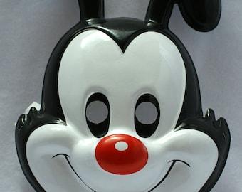 Adult Size Yakko Animaniacs Vintage Halloween Mask Rubies Tiny Toons PVC Y107