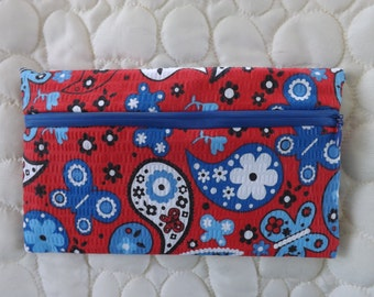 Purse, clutch, makeup bag or purse organizer