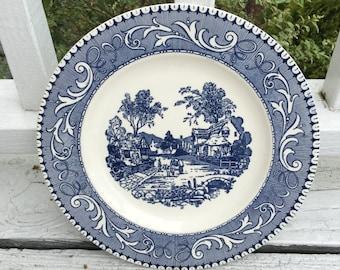 Homer Laughter  Shakespeare Country Dinner Plate