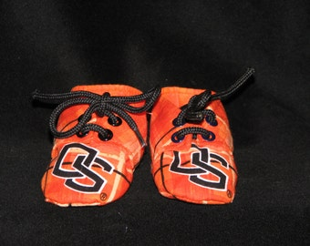 Oregon State Beavers Baby Booties