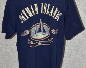 Vintage Cayman Islands Shirt FOTL Tag EUC XL