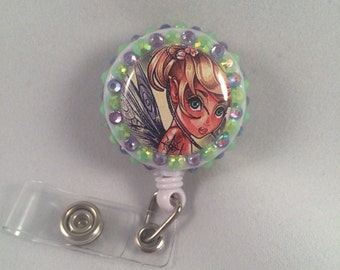 Tinkerbell badge reel