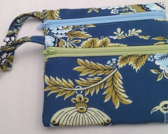 cell phone wristlet / iPhone wristlet / phone case/ Made in Maine