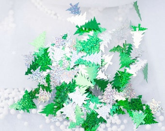 Christmas Tree Table Sequin Confetti