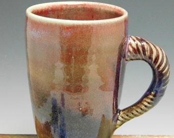 299 - Large Mug, Coffee Cup, Tea Cup, Wheel Thrown Stoneware, 20 oz.