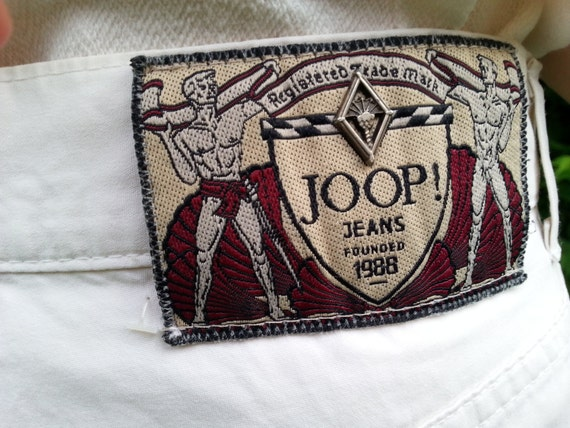 sale old 90s designer carrot pants joop jeans beverly hills. Black Bedroom Furniture Sets. Home Design Ideas