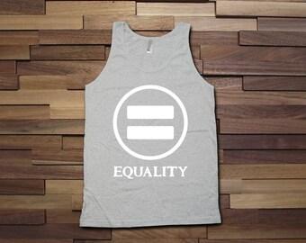 Equality gay pride tank top - Gay Pride Month Ally t-Shirt, Gay Pride Clothing, pride parade, Mens Womens Shirts, Fitness tank top -CT-499