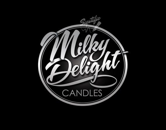 Custom Candle Label Design, Commercial Label Design, Custom Product Label Logo, Silver Label Design, Candle Jar Logo Design, Round Label