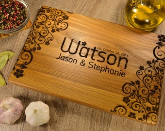 Kitchen cutting board, custom personalized cutting board. FREE - Gift Wrap!!!