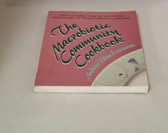 Macrobiotic Cookbook by Andrea Bliss Lerman, Vintage Cookbook