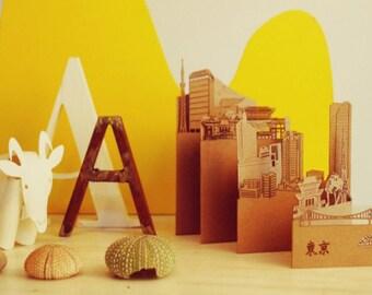 Tokyo Postcard, Pocket-Cities - cities of pocket, zip Tokyo