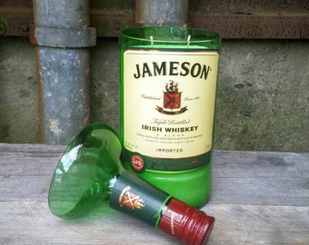 Jameson Irish Whiskey Liquor Bottle Candle - Gaint 1.75 Liter Handle