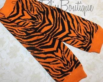 Tiger Strip Leg Warmer