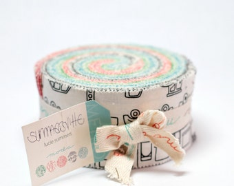 Summersville by Lucie Summers for Moda Jelly Roll OOP HTF