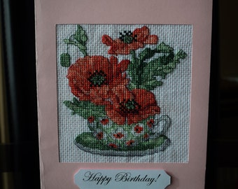 """Greeting Card """"Poppies"""""""