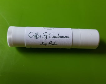Coffee and Cardamom Lip Balm   Lip Balm   Herbal Lip Balm   Natural Lip Balm