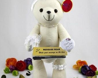 Hens Night Signature Bear - Personalised Gift