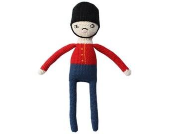 "Crochet doll pattern ""Carl"" a Royal Guard Toy Soldier"