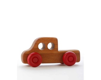 Wooden Toy Truck - Pick Up Extended Cab