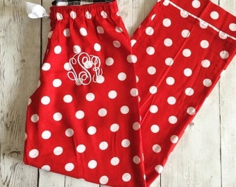 Monogram Pj pants, Pajama Pants, Lounge Pants