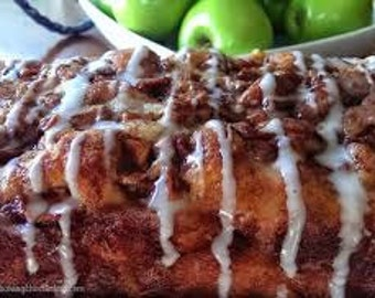 Country Apple Fritter Yeast Bread large loaf Apple Fritter Bread Apple Bread Homemade Apple bread Sweet Breads yeast breads  large loaf