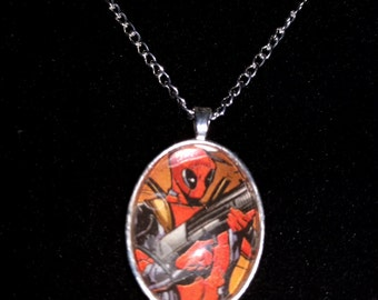 Marvel X-Men Deadpool Pendant