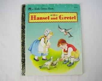 Hansel and Gretel – Vintage Children's Little Golden Book – 207-65