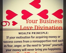 Your Business's Love Mini Divination