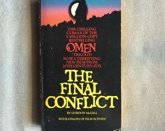 The OMEN 3: The FINAL CONFLICT (Paperback Novelization by Gordon McGill)