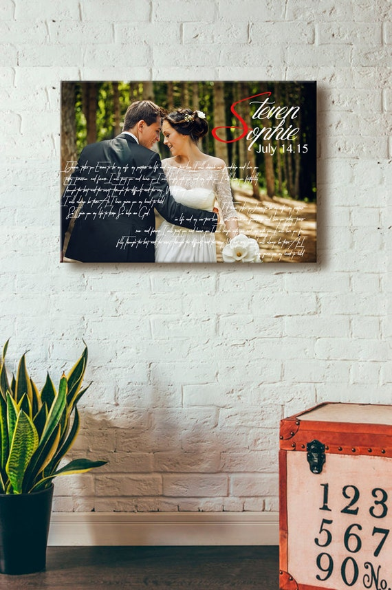 wedding vows framed framed wedding vows wedding vows canvas framed