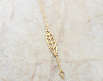 Tribal long necklace