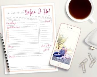 Wedding To Do List